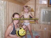Счастливая мама и веселая дочь