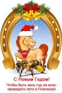 Пчела и лошадь 2014